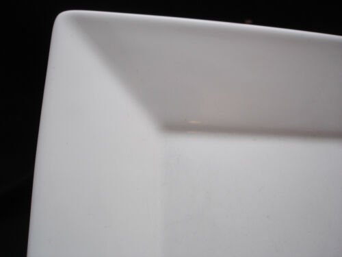 """Asian Square White by Pottery Barn DINNER PLATE 10 3//8/"""" MADE IN JAPAN"""