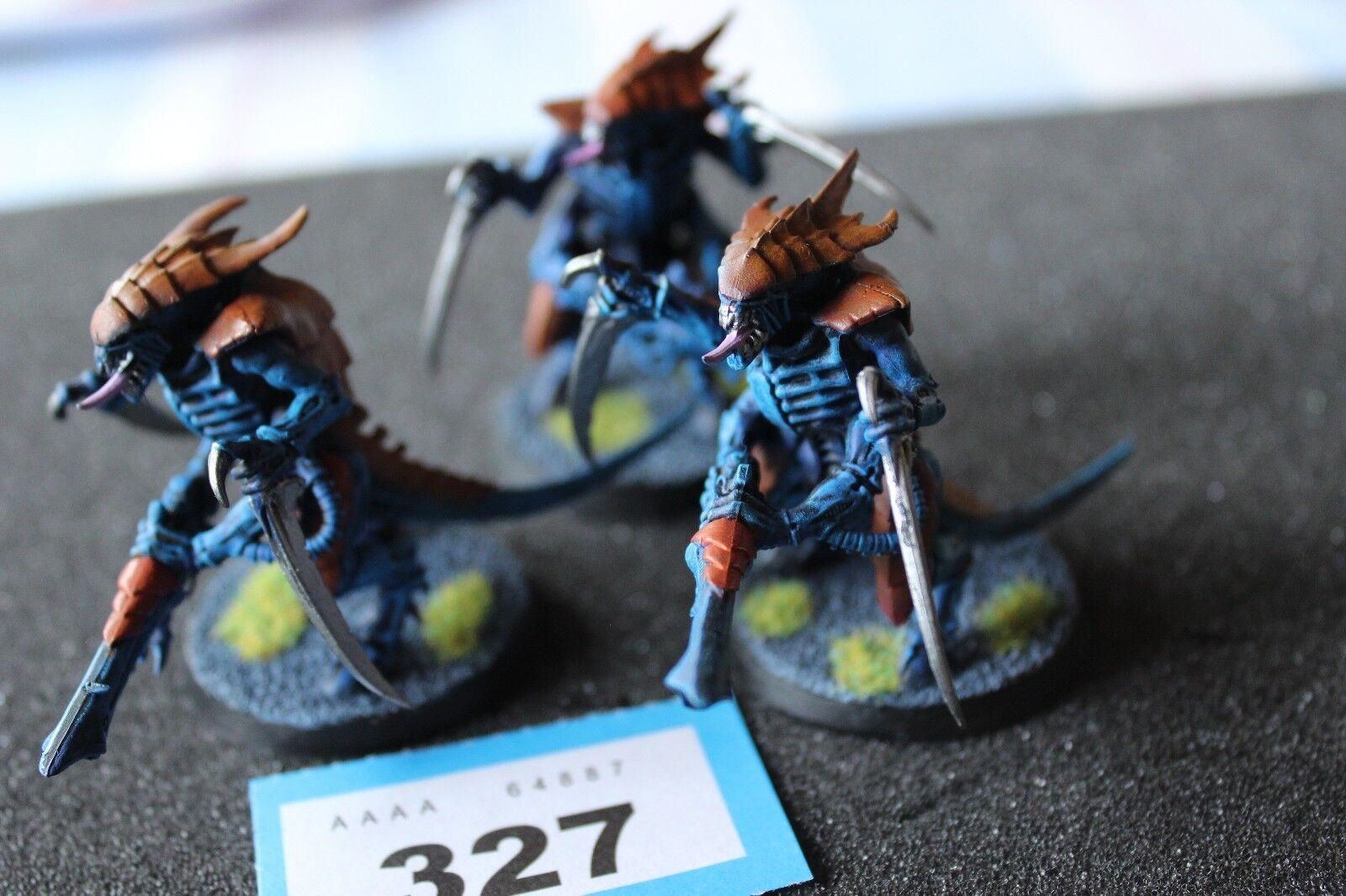 Games Workshop Warhammer 40k Tyranid Warriors x3 Deathspitters Well Painted