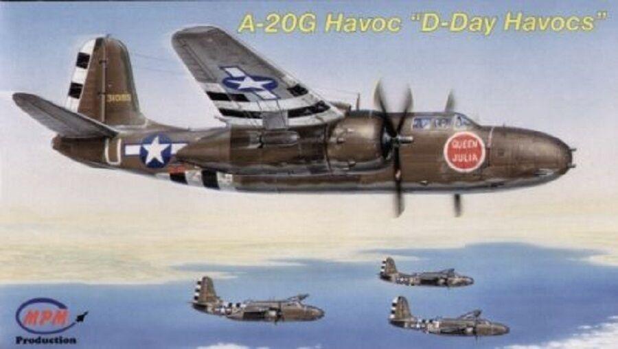 compras de moda online MPM A-20G D-DAY HAVOCS WWII  Scala 1 1 1 72 Cod.72551  venta caliente en línea