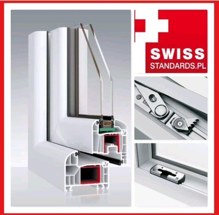 Dreh Kipp Fenster mit Aufsatzrolladen Gurtantrieb 2 oder 3 fache Verglasung