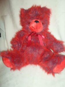 """Sugar Loaf Red Love Teddy Bear 14"""" Plush Soft Toy Stuffed Animal"""