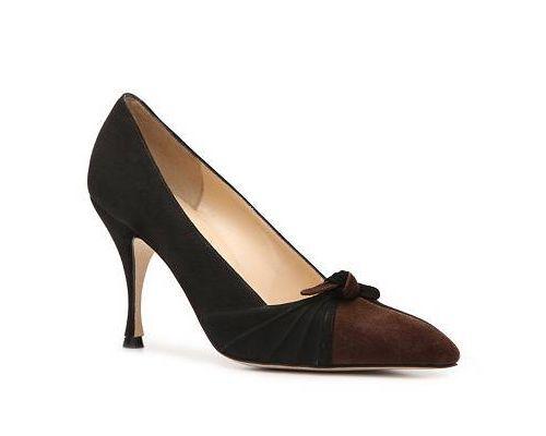 NIB  New MANOLO BLOHNIK DEMARA Pump scarpe ManoloDimensione 40 (US 39 -39.5) Retail  745  marchio famoso