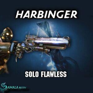 Solo Flawless Harbinger Mission | Alpha Hunter Triumph | Xbox Ps4 PC |