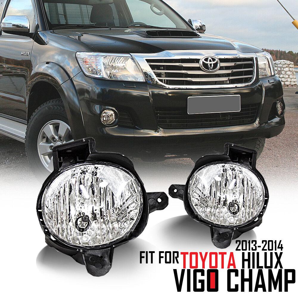 For 12-13 Toyota Hilux Vigo Champ KUN 5Le Mk7 Fog Lamp Light Spot Light Lamp 12V