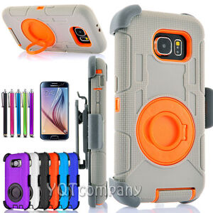 For-Samsung-Galaxy-Note-5-Belt-Clip-Holster-Hybrid-Protective-Rugged-Case-Cover
