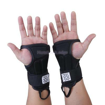 Hand Wrist Palm Support Brace Band Guard Wrap Protector Splint for Ski Snowboard