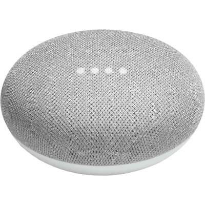 Google Home Mini Smart Speaker Voice Activated With Google Assistant Chalk
