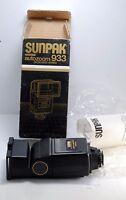 Sunpak 933 Dedicated/automatic Flash For Pentax In Box W Manual