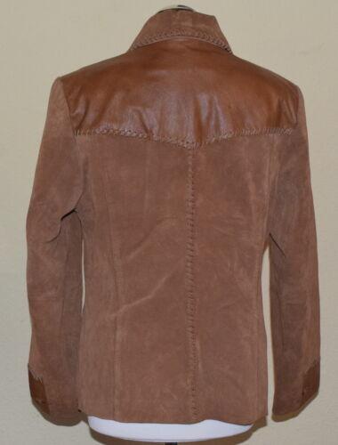 4b1b25bc2 couro couro jaqueta mulher de genuíno em Couro som Gr Casaco de 42 de  6PqwAHE