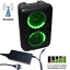 thumbnail 6 - ABRATO S-2802 + DAC (S-TV) BLUETOOTH KARAOKE POWERED SPEAKER + 2 WIRELESS MIC'S