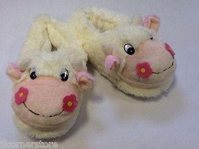 Precioso calidad ladies/girls Vaca Linda Zapatillas-tan cálido y cómodo