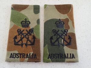 Genuine-Pair-SRI-Petty-Officer-Epaulettes-Camouflaged-Australian-Navy-RAN