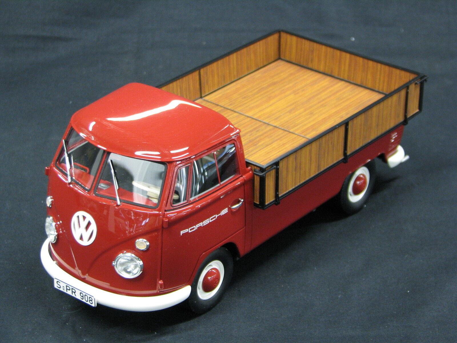 auténtico Premium Classixxs Volkswagen ( VW VW VW ) T1 Renntransporter 1 18 Porsche Team  tienda en linea