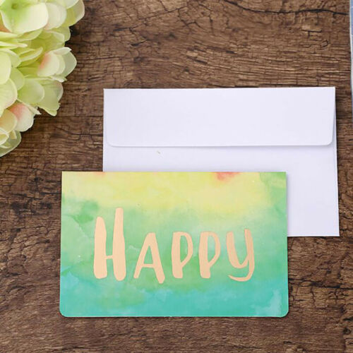 New Year Christmas Greeting Card Creative Xmas Card Message Cards Gifts SW