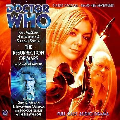 1 of 1 - Doctor Who, The Resurrection of Mars by Jonathan Morris (CD, Audiobook, 2010) d1