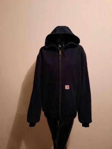 Carhartt Hooded Jacket Size Large