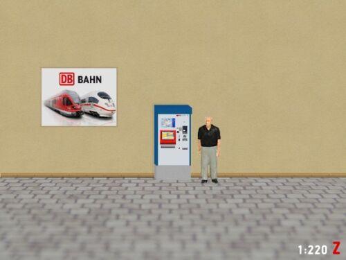 1:220 Z Fahrkartenautomat Ticketautomat SBB Bahnsteig Modellland 2082-5