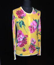 DOLCE & GABBANA Cardigan mit floralem Print aus Baumwolle, Gr. 46 IT / 40 DE