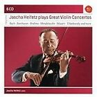 Jascha Heifetz Plays Great Violin Concertos (2011)