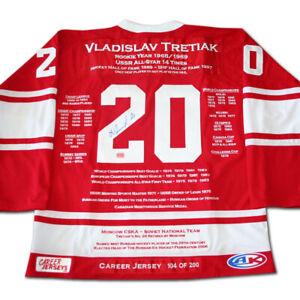 Vladislav-Tretiak-Career-Jersey-Autographed-LTD-ED-200-USSR