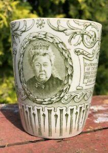 Vintage-Victoria-R-I-Diamond-Jubilee-1897-Whiteleys-London-Commerantive-Cup