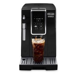 De'Longhi DINAMICA TrueBrew Over Ice Black Automatic Espresso Machine ECAM350320
