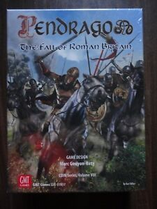 Pendragon-by-GMT-Games-COIN-Series-Volume-VIII-NEW-2017-mint-in-shrink