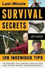 Last-Minute Survival Secrets : 131 Ingenious Tips to Endure the Coming Apocalypse and Other Minor Inconveniences by Joey Green (2014, Paperback)