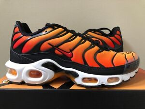 Details about 2018 Nike Air Max Plus OG Sunset BQ4629 001 Orange 4 13 LIMITED 100% Authentic