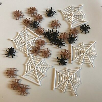 Lego Set Of 5 White Spider Webs