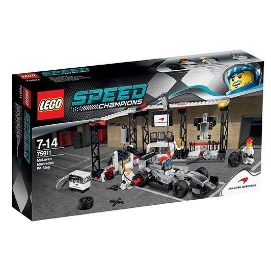 LEGO® 75911 Speed Champions McLaren Mercedes Pit Stop Neu OVP New