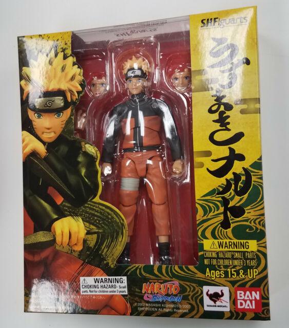 S.H.Figuarts Uzumaki Naruto Shippuden Action Figure Tamashii In Box Bandai Gift