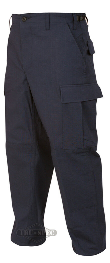 Tru-Spec Dark Navy BDU Pants 100% Cotton RS