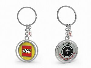 * Vip * Lego 10265 Ford Mustang Key Chain * New, Factory-sealed Porte-clés *-afficher Le Titre D'origine Distinctive Pour Ses PropriéTéS Traditionnelles