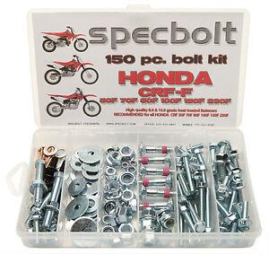 Honda CRF 50F 70F 80F 100F 110F 150F 230F Specbolt Motorcycle Bolt Kit XR