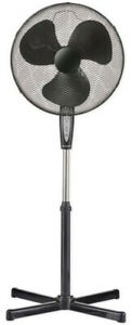Stand-Fan-with-Remote-Control-and-Timer-Black-Fan-Floor-Fan