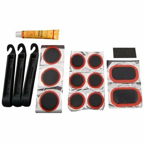 Bicycle Tyre Puncture Repair Kit Bike Cycle Patches Patch Mountain Rubber Tool