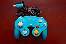 Nintendo GameCube NGC Japan import emerald blue official Controller US Seller