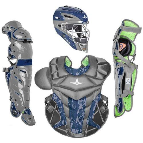 All-star Camo Pro S7 axe adulte Catcher/'s Kit ckpro 1X-DC Graphite//Bleu Marine