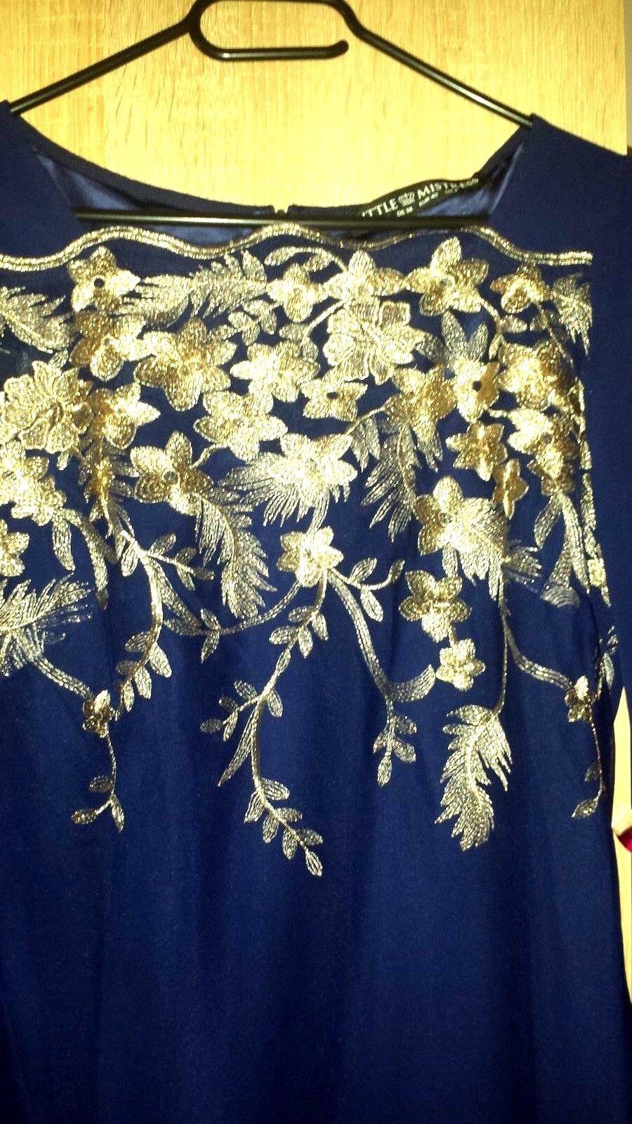 Damenkleid   Festkleid in gr 38 NEU
