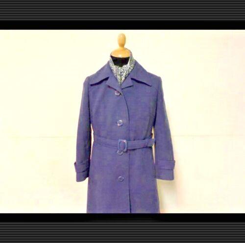 36 Blue Frakke 80's Women 80's 34 36 Gråblå Vintage Kvinder Coat Greyish Vintage 34 Style Style nqOzCYwt