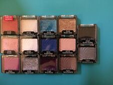 Lot Of 14 Different Wet N Wild Eyeshadows and Glitters