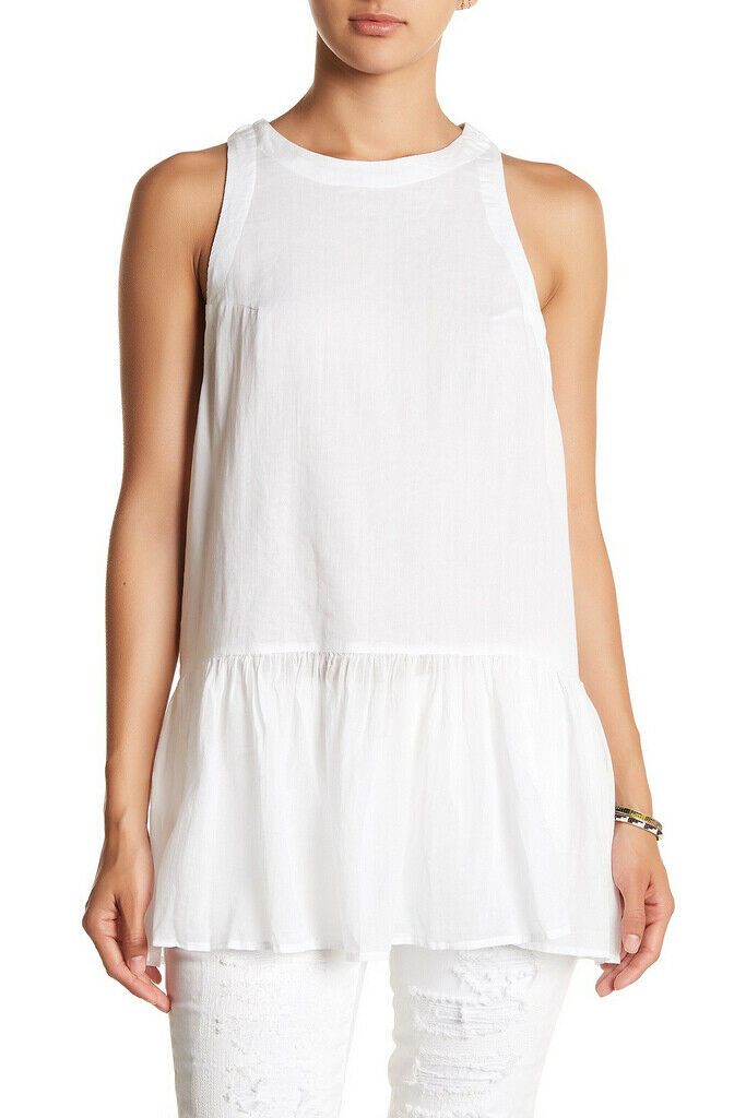 Free People damen Breathless Moment OB574906 Top Relaxed Ivory Weiß Größe XS