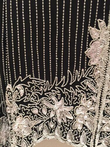 Blanches Manches Longues Perles Femme Fay et Gala Leslie Noir S de Party Veste t8xpap