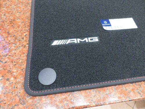 Original AMG felpudos mercedes a-clase B-Clase GLA W 246 W 176 w156 red cut