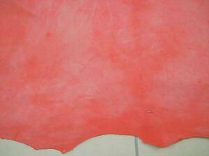 Raisonnable Rouge Nappa Kid En Cuir Avec Cireuse Analine Finition Mate 0.7 Mm Super Doux Barkers N80-afficher Le Titre D'origine Des Friandises AiméEs De Tous