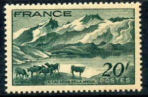 Belle Stamp / Timbre France Neuf N° 582 ** Le Lac Lerie Et La Meije Gagner Les éLoges Des Clients