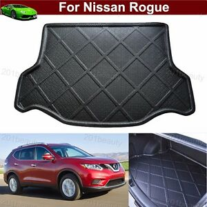 car mat cargo liner mat tray rear trunk floor mat for nissan rogue 2014 2017 ebay. Black Bedroom Furniture Sets. Home Design Ideas