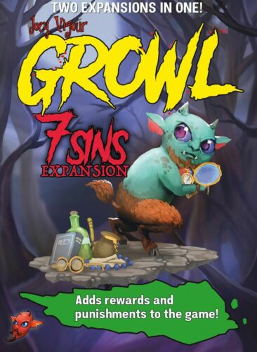 Werewolf GROWL Game HOWLY GROWLY KICKSTARTER EXCLUSIVE ED.+ALL 4 EXPANSIONS NEW