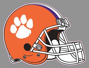 Amazon.com : AUBURN TIGERS Football Helmet DECALS : Sports ... |Tiger Football Helmet Decals